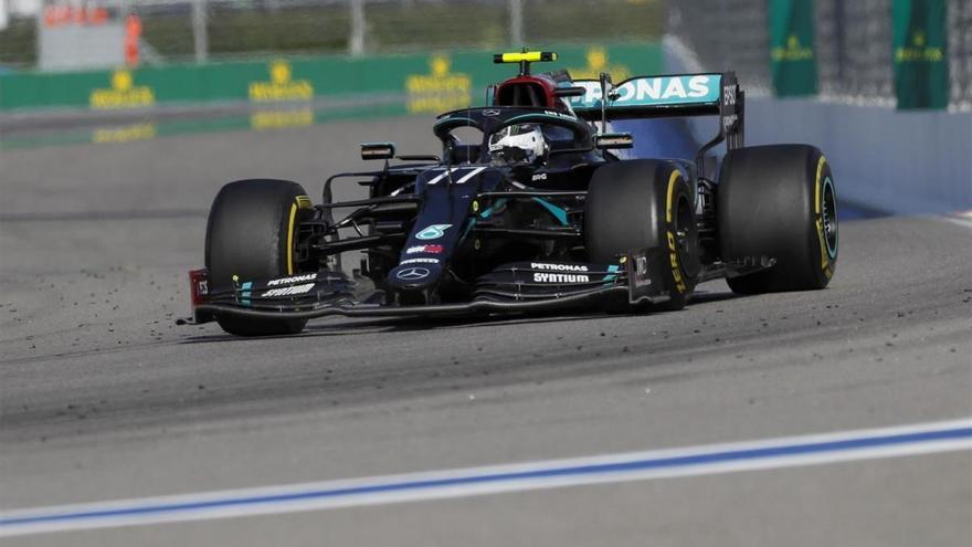 Bottas gana en Rusia y Hamilton tendrá que esperar para igualar a Schumacher