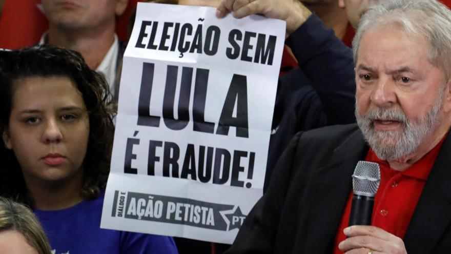 Lula quiere volver a ser presidente pese a su condena