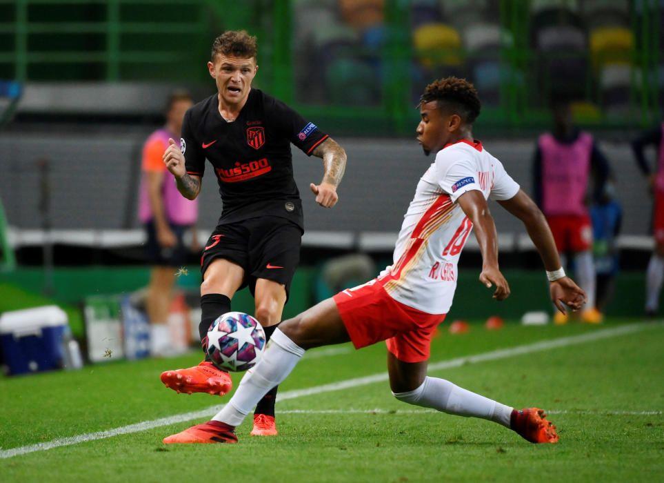 Las imágenes del Leipzig - Atlético de Madrid.