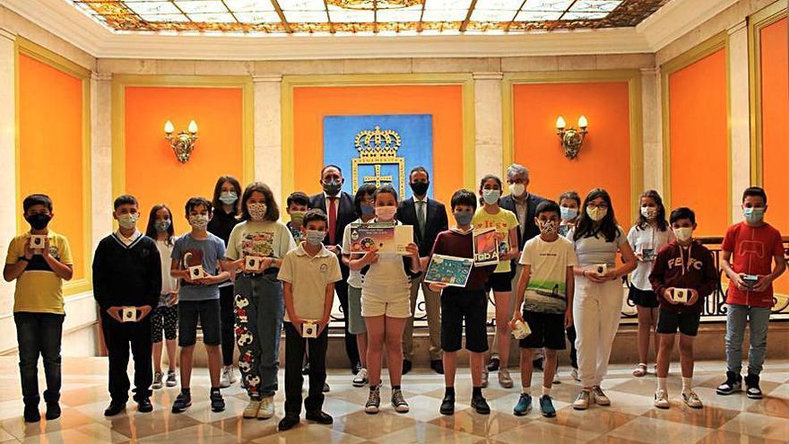 El Ayuntamiento y Aqualia entregan los premios del concurso del Día Mundial del Agua