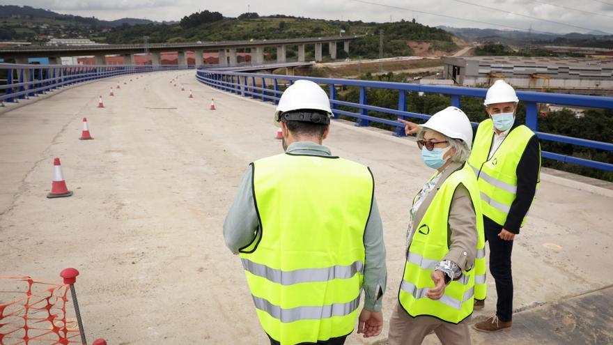 Las obras del acceso a la Zalia por La Peñona terminarán este año