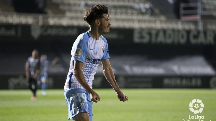 Jozabed se queda en el Málaga CF hasta 2023