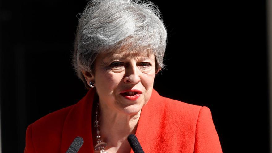 La primera ministra del Regne Unit Theresa May anuncia que dimitirà el 7 de juny