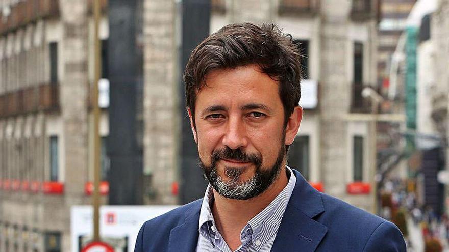 """Antón Gómez-Reino: """"Podemos non desapareceu en absoluto, seguirei á súa fronte e como deputado"""""""