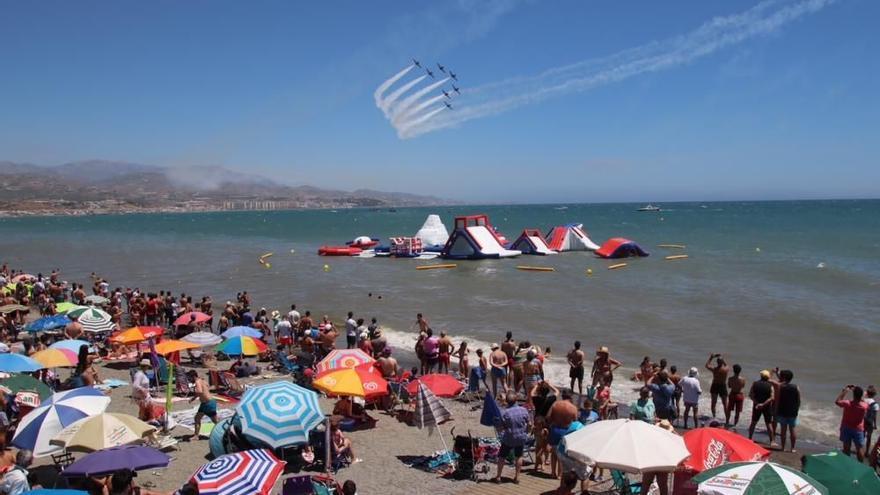Torre del Mar celebrará el Festival Aéreo del 10 al 12 de septiembre si la situación sanitaria lo permite