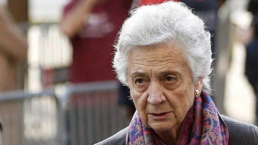 """Marta Ferrusola """"continua greu"""" després de passar la primera nit a l'UCI"""
