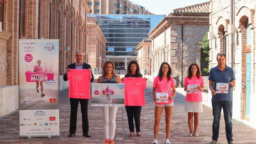 La Carrera de la Mujer vestirá de rosa València