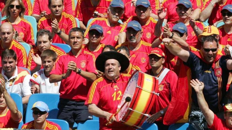 Manolo, el 'bombo' de España