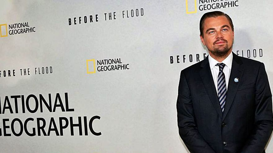 Leonardo DiCaprio se une a la UE y Global Wildlife para proteger la biodiversidad