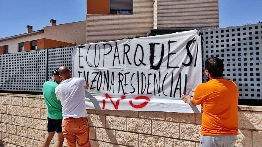 El alcalde de Sant Joan anula la instalación del ecoparque que rechazaban los vecinos