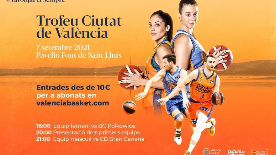Entradas a la venta para la presentación del Valencia Basket