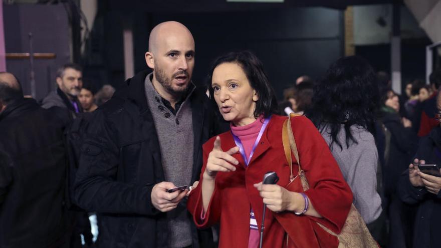 Segunda asamblea de Podemos en Vistalegre
