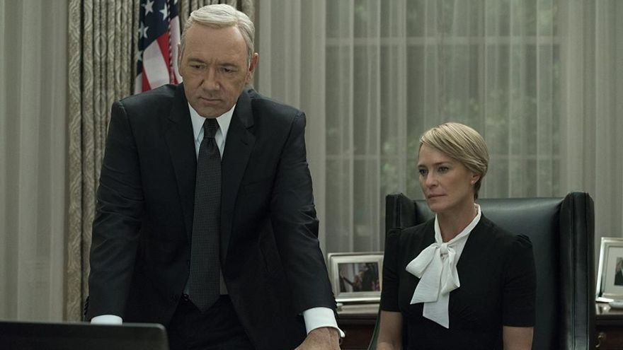 Robin Wright protagonizará 'House of Cards' sin Kevin Spacey