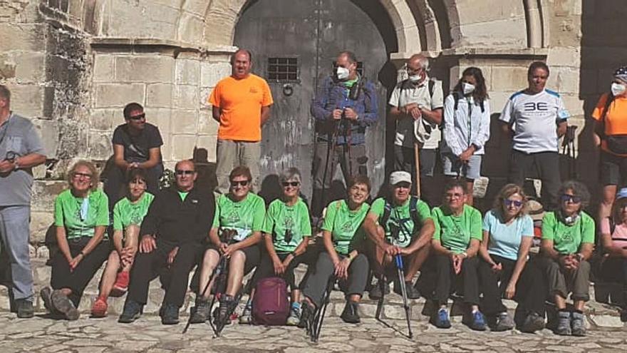La Colla Excursionista de Vilanova del Camí fa una ruta circular per Querol