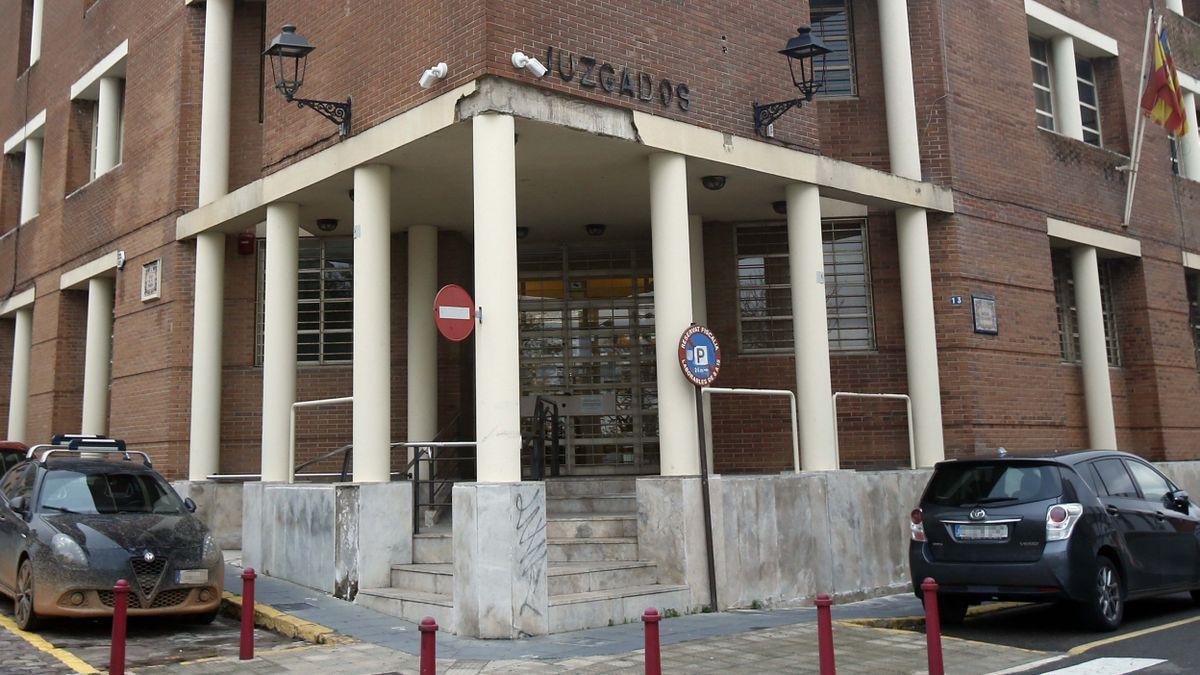 Imagen de archivo de los juzgados de Alzira.