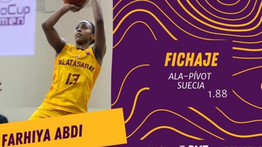 Farhiya Abdi, con experiencia en WNBA, nuevo fichaje del Ciudad de La Laguna