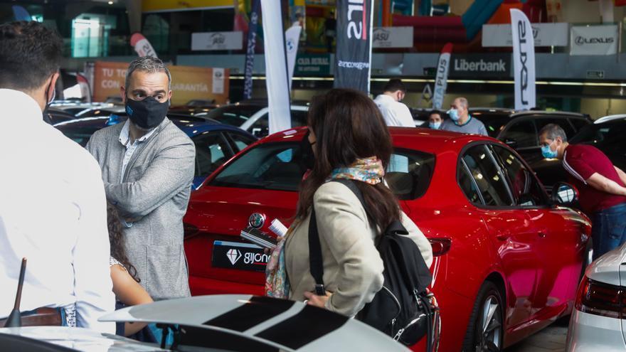 La Cámara despide la Feria del vehículo de ocasión con cifras de época precovid