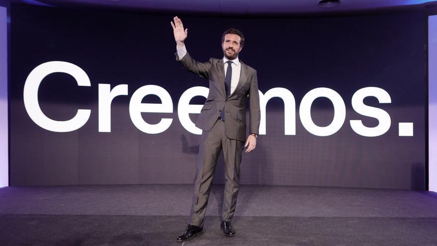 Casado elige València para celebrar la convención nacional del PP