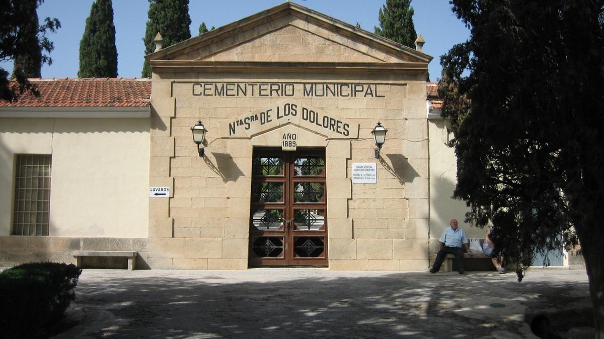 El Cementerio de Crevillent, en una imagen de archivo