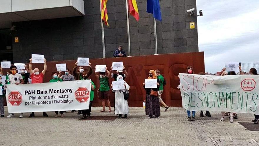 La PAH del Baix Montseny demana l'aturada dels desnonaments
