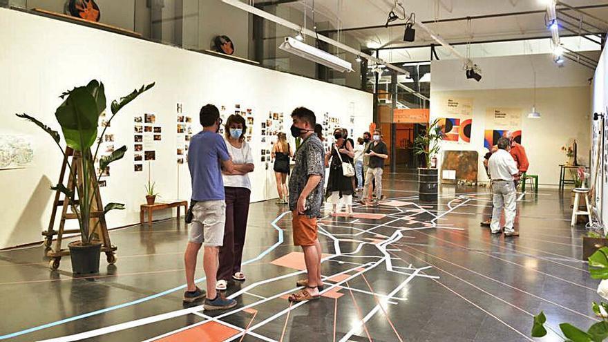 Visita guiada, avui, a l'exposició sobre la transformació del Rec, al Museu de la Pell