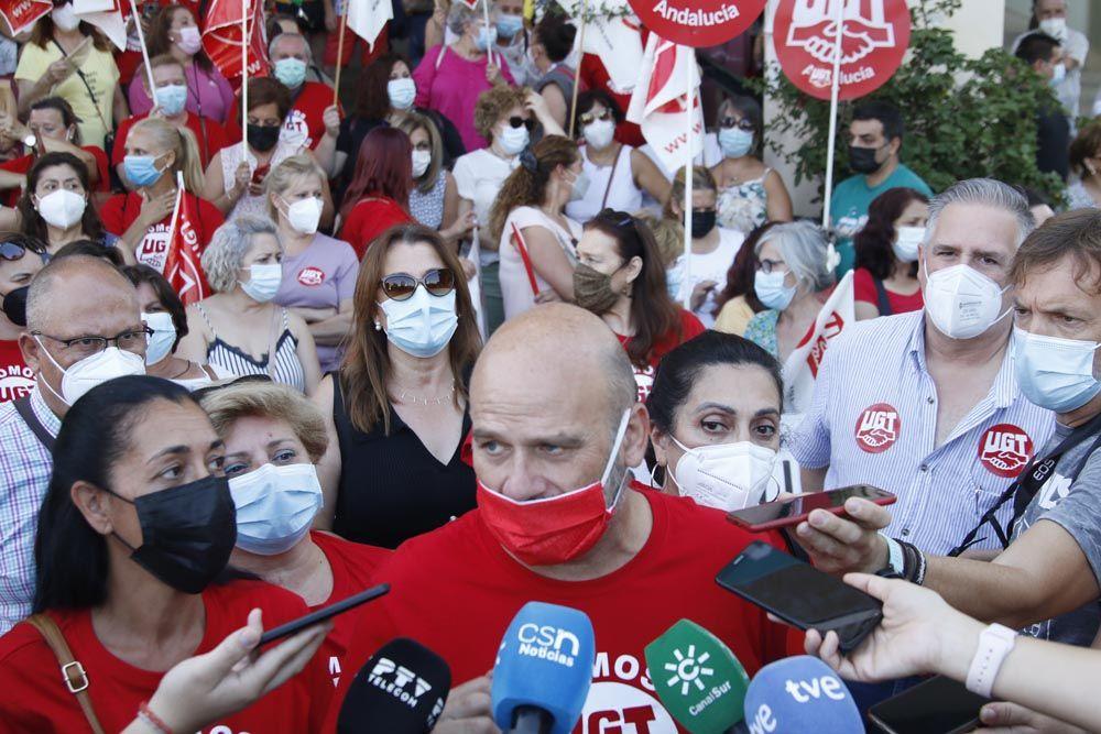 Huelga en el sector de la limpieza en el Reina Sofía
