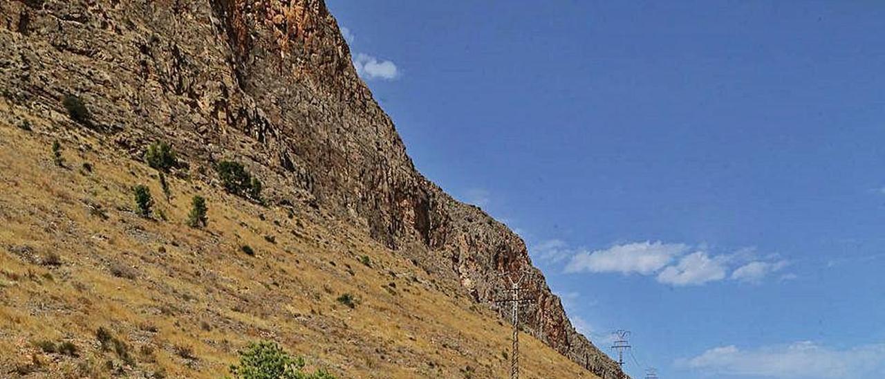 Aspecto que presentan las laderas de la Sierra de Orihuela. T. SEVILLA