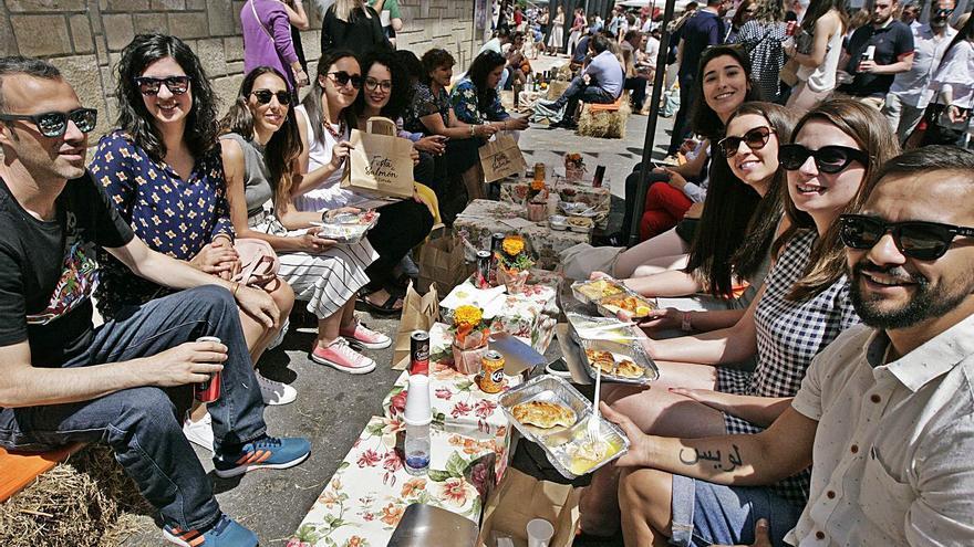 A Estrada prepara una edición de la Festa do Salmón en formato reducido
