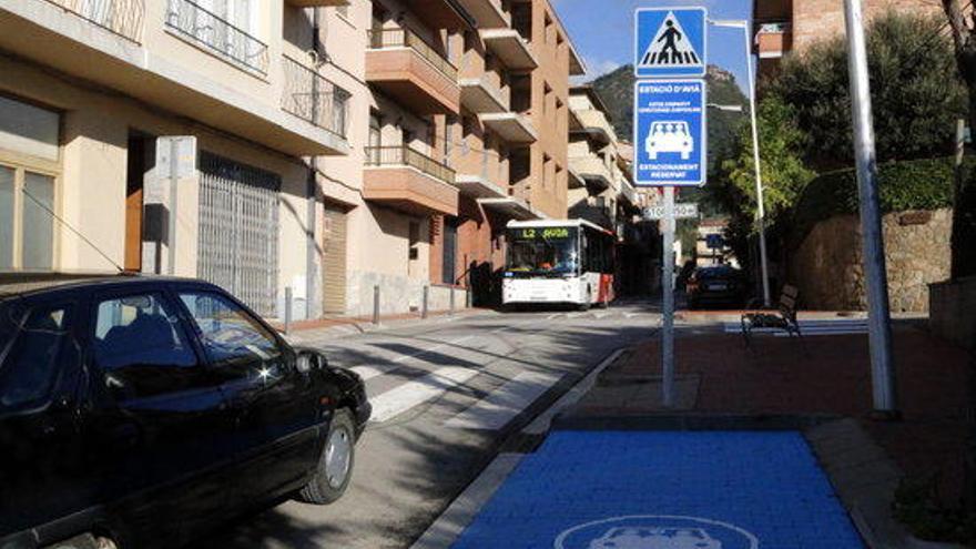 Avià habilita la primera àrea per compartir trajectes en cotxe de Catalunya
