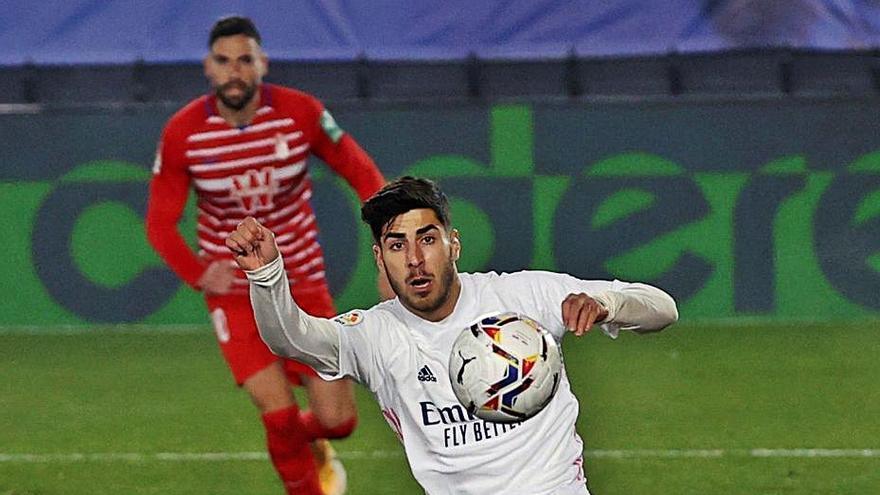 Renace Asensio en el Madrid