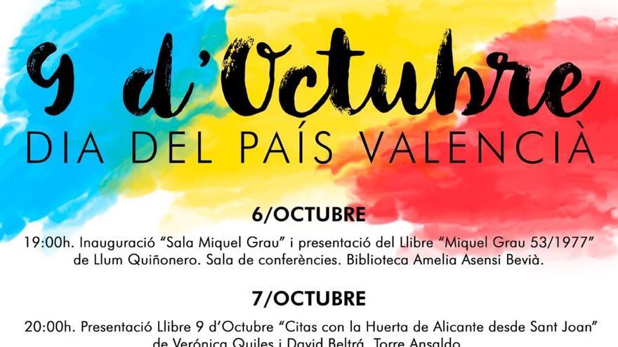 El PSPV de Sant Joan activa los trámites para  retirar el «País Valencià» en medio de la tensión