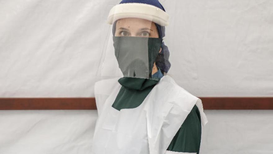 Cristina Martel, la canaria que lucha contra el estigma del covid-19 en Yemen