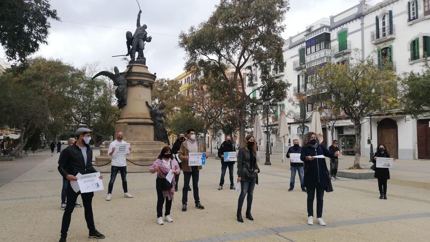 La patronal convoca una manifestación para exigir un plan de rescate urgente para Ibiza