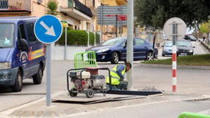 Figueres inicia la instal·lació de càmeres de videovigilància al barri de Sant Joan