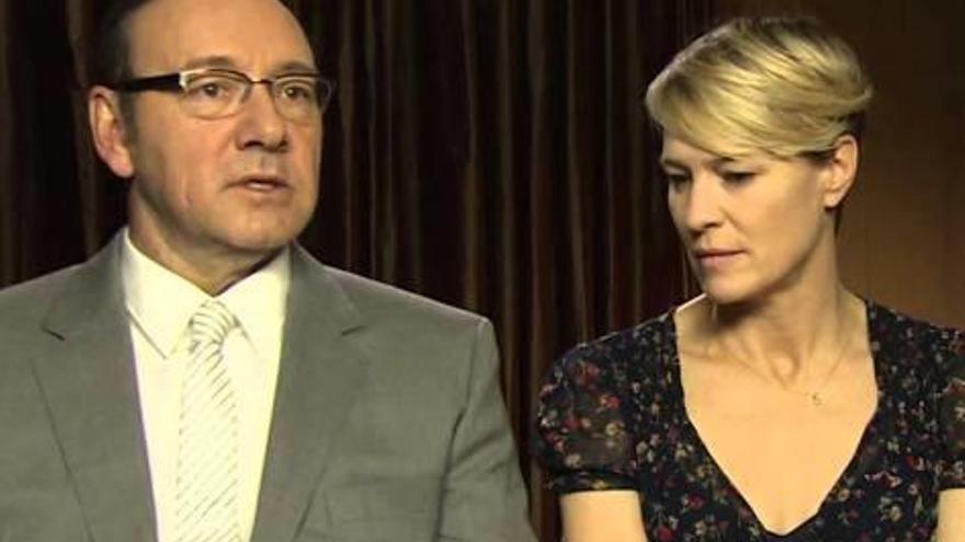 L'actriu Robin Wright parla per primera vegada sobre Kevin Spacey