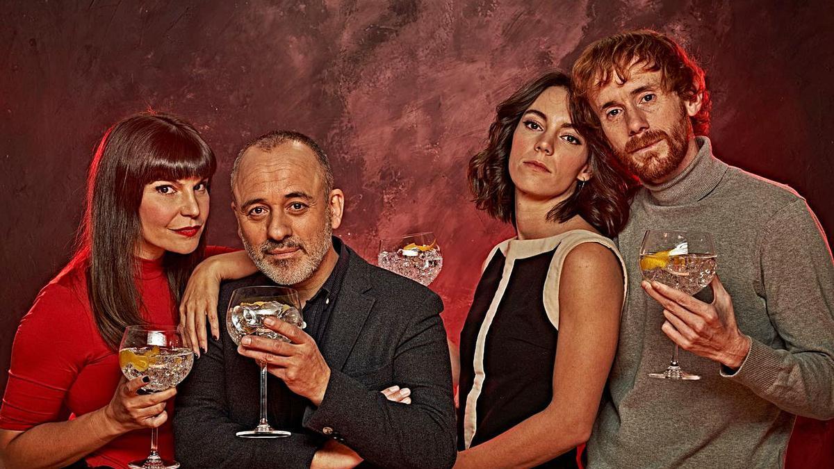 El elenco de 'Principiantes. De qué hablamos cuando hablamos de amor'