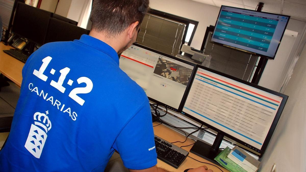 Sala operativa del Centro Coordinador de Emergencias y Seguridad (Cecoes) 1-1-2