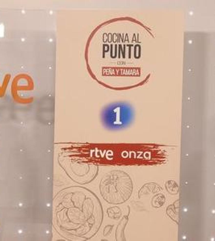 TVE presenta 'Cocina al punto' con Tamara Falcó y Javier Peña al frente