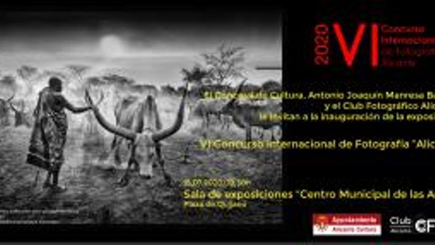 Exposición del VI Concurso Internacional de Fotografía Alicante