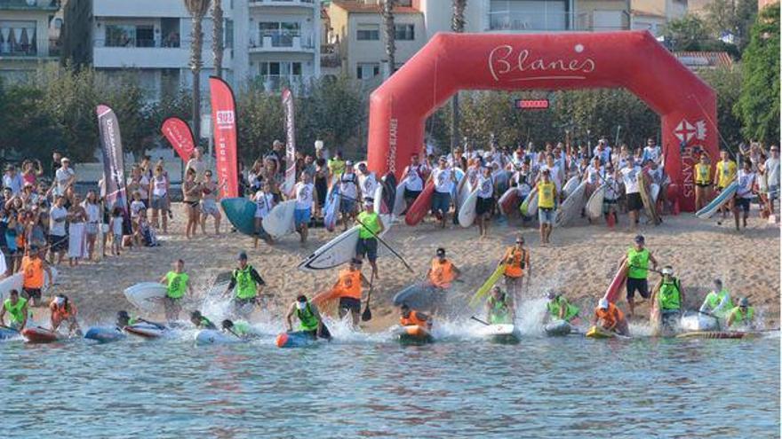 Blanes fa un pas més per confirmar-se com la capital catalana del pàdel surf