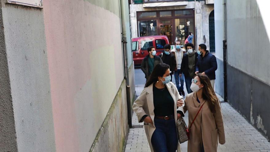 El atajo más corto de Gijón está en la calle Segovia