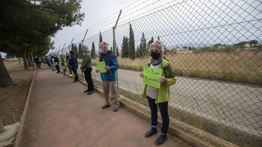 Marratxí rechaza la propuesta de Aena de liberar un 41% del solar donde se proyecta el parque solar