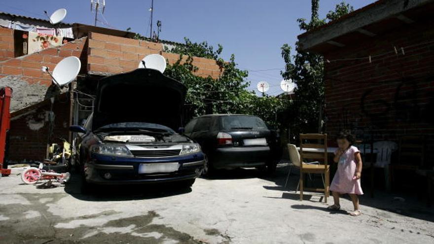 Seis detenidos en una macrooperación antidroga en la Cañada Real de Madrid