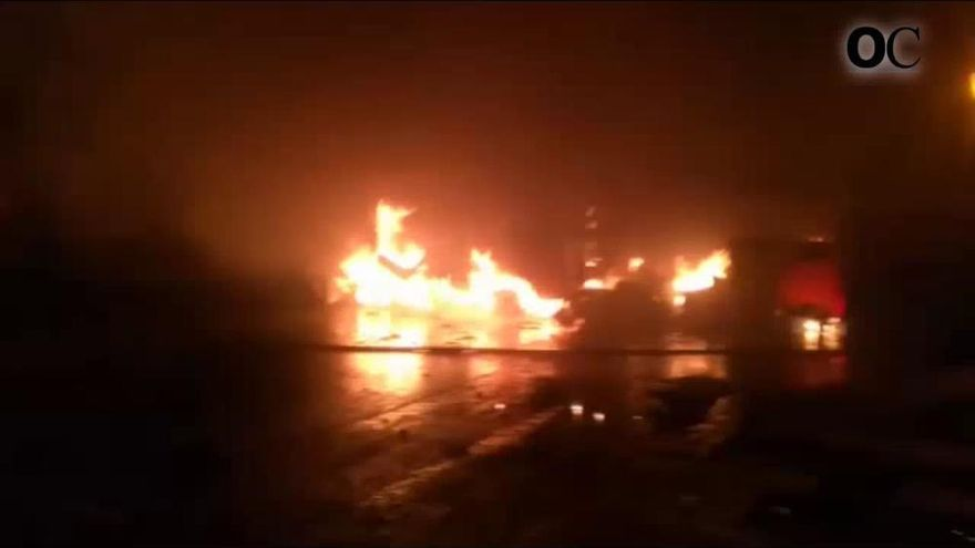 Se investiga el incendio de otra ambulancia en Pontevedra