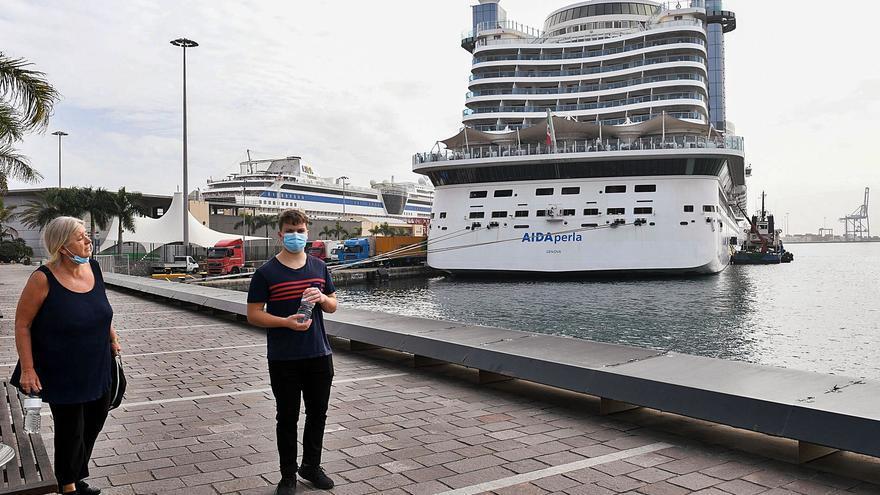 La Luz pierde casi medio millón de cruceristas en 2020 por la pandemia