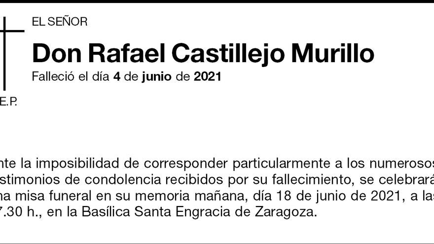 Rafael Castillejo Murillo