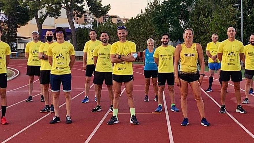 Los triatletas del CA Safor