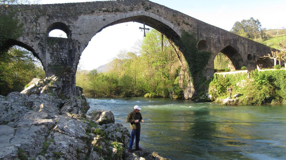 El puente de Cangas de Onís.