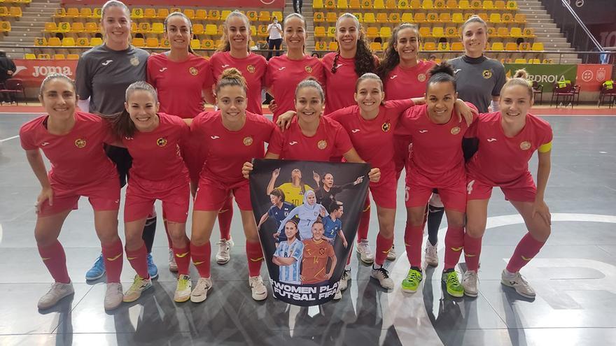 Cristina García hace historia con la selección española de fútbol sala