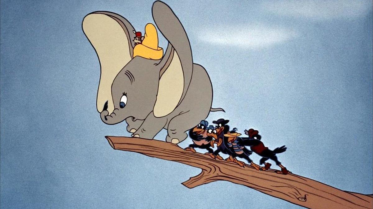 'Dumbo', una de las películas que incluyen el mensaje.